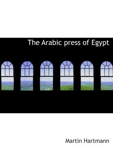 The Arabic press of Egypt