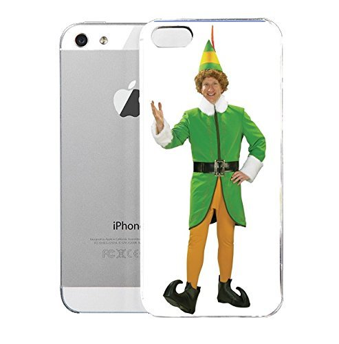 Top Quality iPhone 5&5S cover case Elf Deluxe Buddy The Elf Costume for E-GLL (Deluxe Buddy The Elf Costume)