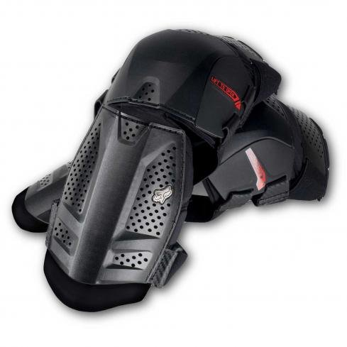 Fox leg protector Launch Shorty Knee Guard black
