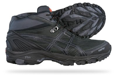 Asics Gel Arata MT G-TX Womens Walking Trainers / Shoes - Black - SIZE UK 7