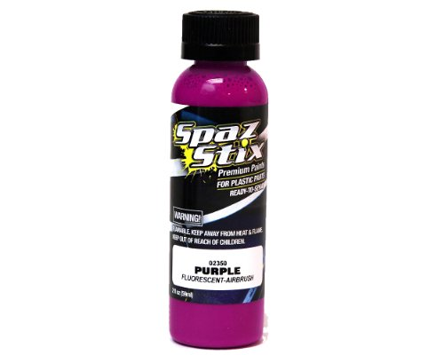Purple Fluorescent Airbrush Paint 2oz - 1