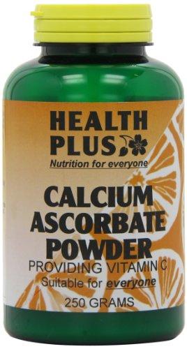 Health Plus Calcium Ascorbate Powder Vitamin C Supplement - 250g
