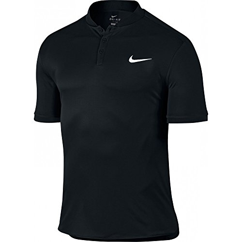 Nike Men's Court Advantage Tennis Polo Black 729384-010 (Medium)