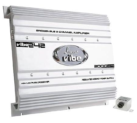 Lanzar VIBE242 Amplificateur à Mosfet 2canaux pour voiture 2000W