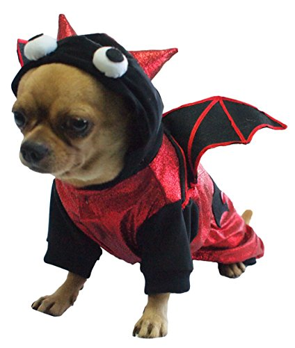 Dogs & Co Halloween Dog Costume 12'' Bat
