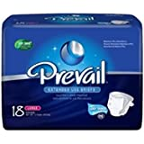 Prevail PM Extended Wear Adult Briefs Part No. NTB013 First Quality