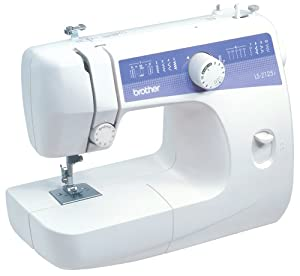 Brother Ls2125i Easy-to-use Lightweight Basic 10-stitch Sewing Machine by Brother