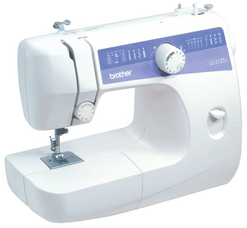 Brother LS2125i EasytoUse, Everyday Sewing Machine with 10 stitches including Blind Hem and Zigzag, and 4Step Auto Buttonhole Picture