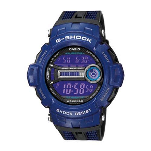 Casio G Shock Blue Digital Mens Watch Gd200 2e Richard D