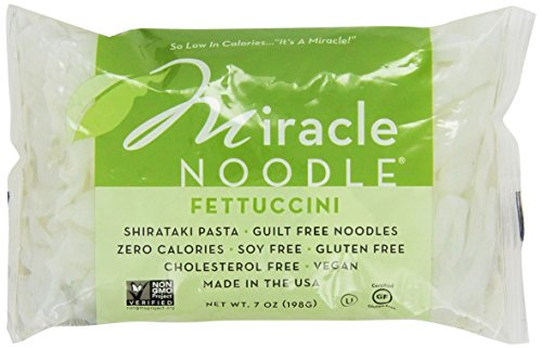 """Miracle Noodle Shirataki Fettucini 7 Oz (Pack Of 5)"