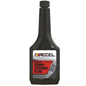 Accel 60211 Power Steering Fluid for Honda Vehicles - 12 fl. oz., (Pack of 12) by Accel
