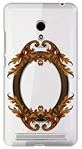 WOW Transparent Printed Back Cover Case For Asus Zenfone 5 A501CG