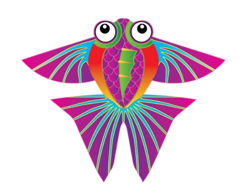 X-Kites MicroKite Mini Mylar Kite - Tropical Fish