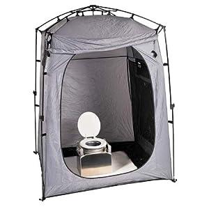 Portable bathroom tent