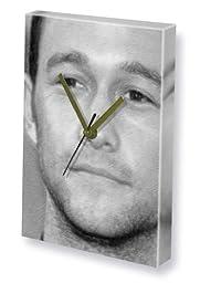 JOSEPH GORDON-LEVITT - Canvas Clock (LARGE A3 - Signed by the Artist) #js002