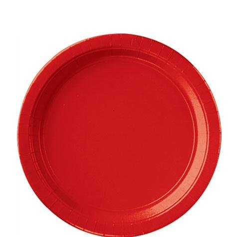 9-IN PAPER PLATES APPLE RED 20 COUNT