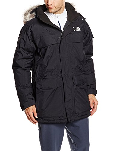 North Face M Mc Murdo Parka, Nero/Tnf Black, M