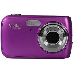 VIVITAR Vivicam V7122 cámara de 7.1 MP púrpura Anti-shake (importado)