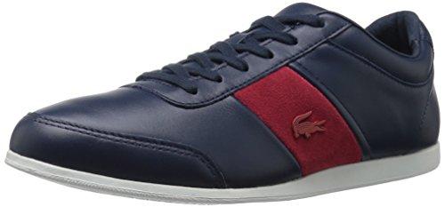 Lacoste Men's Embrun 316 1 Cam Fashion Sneaker, Navy, 8 M US