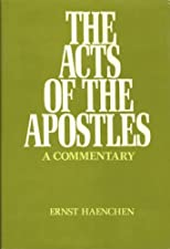 Acts of the Apostles: A Commentary