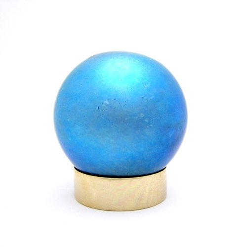 Art Glass Small Pet Urns: Small Sphere Blue