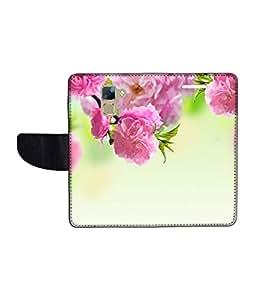 KolorEdge Printed Flip Cover For Huawei Honor 7 Multicolor - (1478-50KeMLogo09384Honor7)
