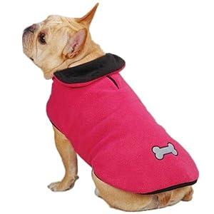 Zack & Zoey UM3939 16 75 Reflective Thermal Jacket for Dogs, Medium, Raspberry