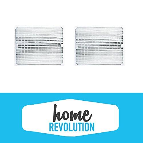 2 BlueAir 200/300 Series Home Revolution Brand Air Purifier Filter; Fits 201, 210B, 203, 250E, 200PF