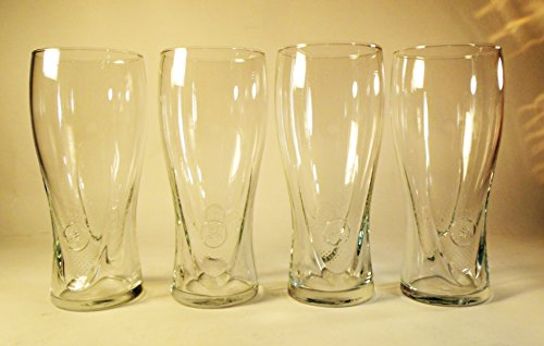 Set of 4 Miller Lite Beer Glasses 16 oz (Miller Beer Glasses compare prices)
