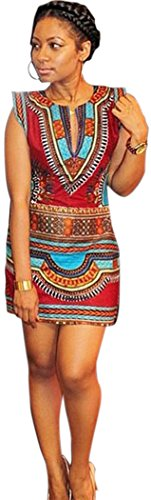 YeeATZ Cap Sleeve Tribal Print Mini Dress (Colombia Retro Cycling compare prices)