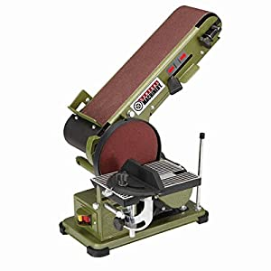 Power Combo 4 inch x 36 inch Belt and 6 inch Disc Sander
