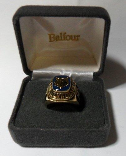 Balfour NBA Minnesota Timberwolves Ring Size 14 Gold