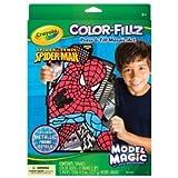 Spider-Man Model Magic Color-Fillz Press & Fill Mosaic Art