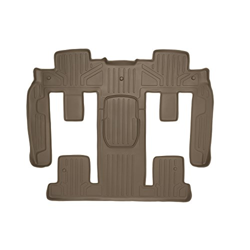 MAXFLOORMAT Floor Mats Traverse / Enclave / Acadia / Outlook Bucket Seat Covers Second and Third Row Tan (Buick Enclave Car Mats compare prices)