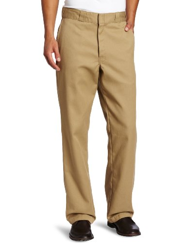 Dickies - Fit, Pantaloni da uomo, Beige (Maple Washed), 34W/32L