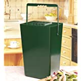 Garland 9-litre Kitchen Compost Caddy with Odour Filterby Garland