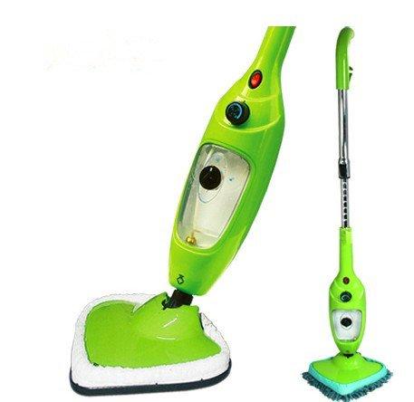 Astar Green 5 In 1 Portable Steam Mop Cleaner For Floor Carpet Window Garment Extension Type