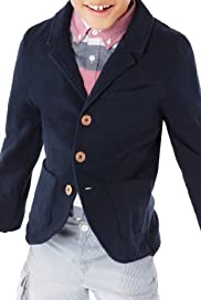 Pure Cotton Notch Lapel Jacket [T87-4901T-S]