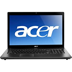 Aspire 7750G-6662  17.3 LED Notebook (  Intel i5 2430M 2.4Ghz., 4GB RAM,   640GB HDD, Windows 7 Home Premium)