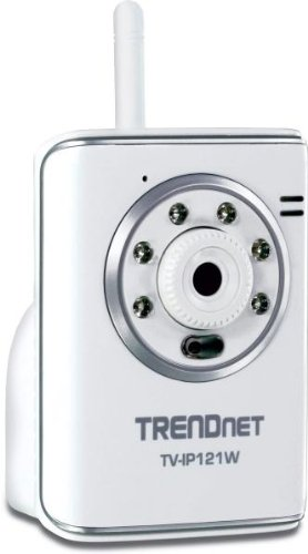 IPCAM TRENDnet TV-IP121W WL Tag/Nacht 1-Mikro (54MBit)