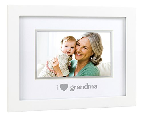 Pearhead Sentiment Frame, I Love Grandma/White - 1