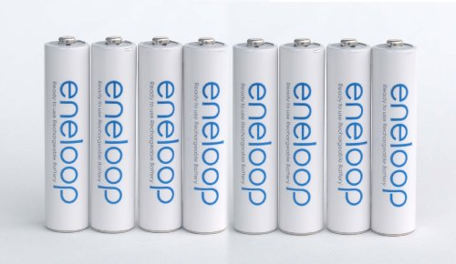 SANYO NEW 1500 eneloop 8 batteries AAA Ni-MH Pre-Charged Rechargeable Batteries
