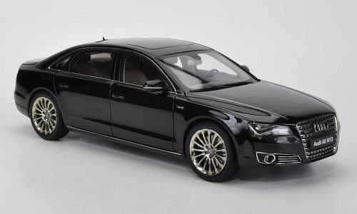 Audi A8 L W12 (D4), schwarz, 2010,