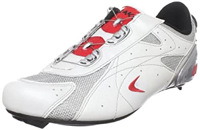 Lake Men's CX330C Cycling Shoe,Pearl Wht/Red,9.5 M US