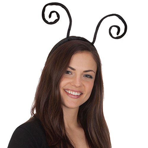 Black Velvet Antenna Headband - 1