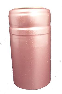 1 X Dusty Rose PVC Shrink Capsules-30 Per Bag