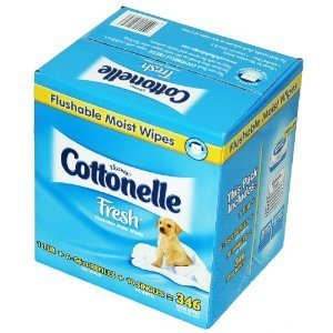 Kleenex Cottonelle Fresh Flushable Moist Wipes – 346 ct