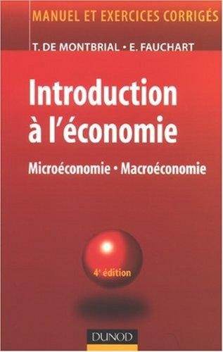 Introduction à l'économie : Microéconomie