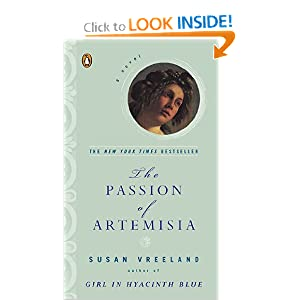 The Passion of Artemisia: A Novel [Paperback]