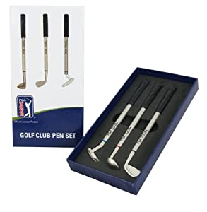 PGA Tour 3 Piece Golf Pen Gift Set